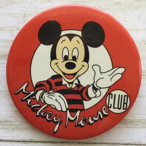 Mickey Mouse Club Button Vintage Disney Channel 93